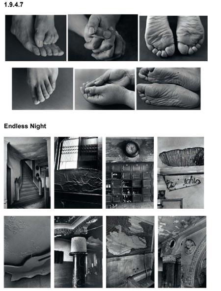 discipline in disorder: Ishiuchi Miyako, Endless Night 2001, 1978-2001