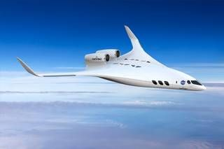 Dzyne Technologies' regional jet-sized blended wing body concept.