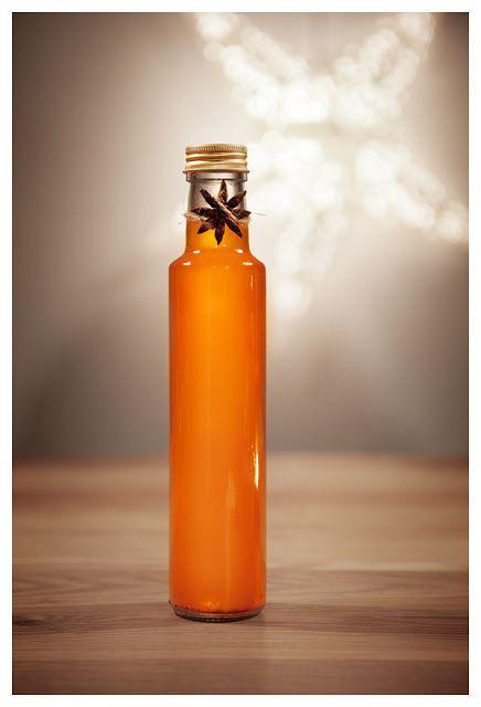Vit saffransglögg med clementin och vanilj