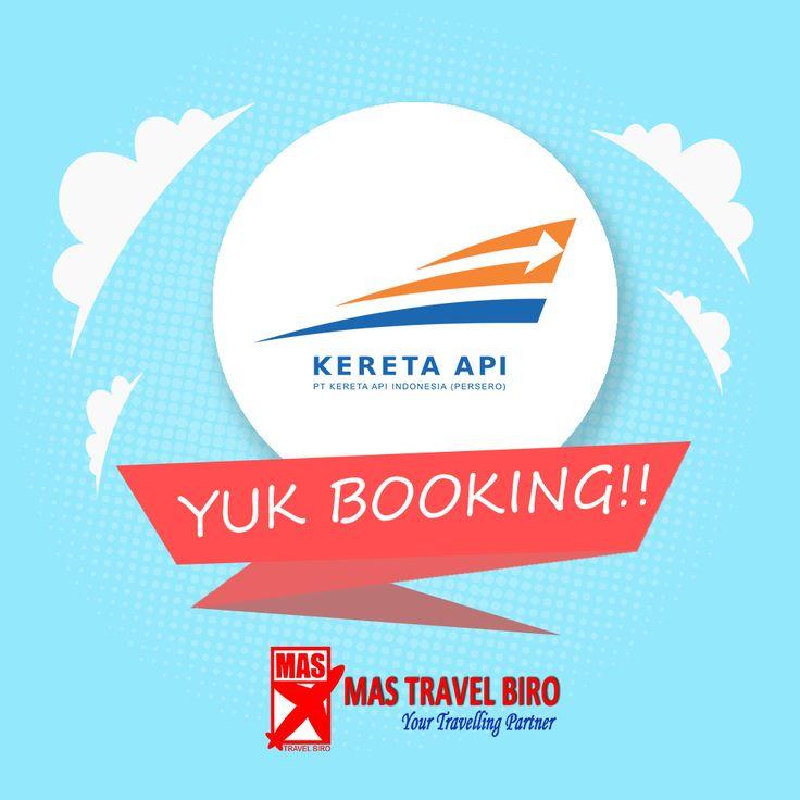 Yang kerja dan melakukan aktivitias yukk naik kereta lebih mudah dan cepat 🚆 Mau booking tiket kereta api? Di catet ya, jangan sampe lupa.  Untuk pertanyaan informasi tour,harga tiket pesawat, booking hotel tiket kereta api Add WA : 081298856950 Phone : 021 55780317 Email : tourhotel.metos@mastravelbiro.com  Beli tiket pesawat & KAI, booking hotel dan beli paket tour diMas Travel Biro ajaa.  #mastravelbiro #promotravel #travelagent #tourtravel #KAI #indonesia