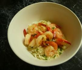 Recipe Creamy Garlic Prawns by Cristina - Recipe of category Main dishes - fish