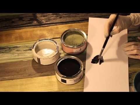Мастер-класс по созданию амбарной доски декоративными материалами от Дарьи Гейлер - YouTube