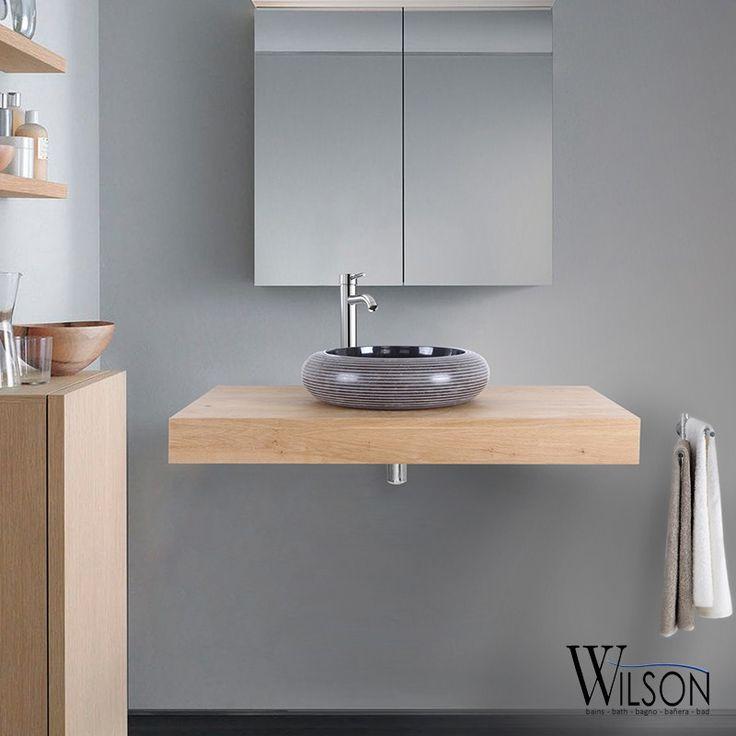 10 best Plans suspendus Salle de bains - Wilson images on Pinterest - meuble salle de bain fer forge