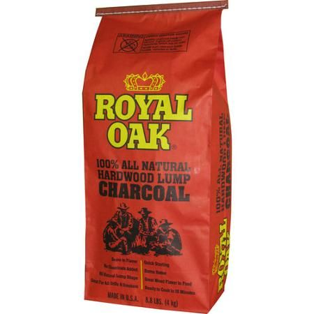 Royal Oak All-Natural Hardwood Lump Charcoal - Walmart.com