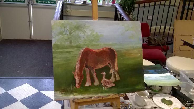 Students work Animalia Art course 2016