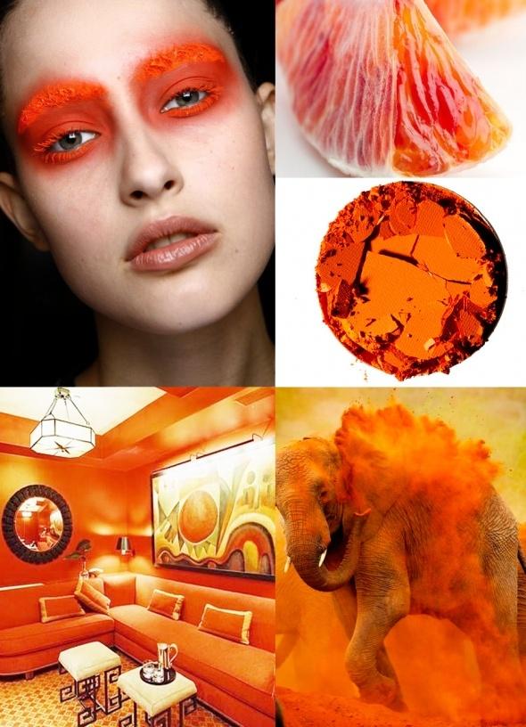 Orange Saffron