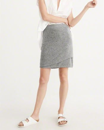 Wrapped Mini Skirt from Abercrombie & Fitch $38,00
