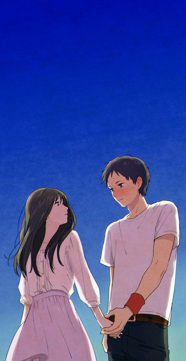 Pin Oleh Anime Wallpapers Di Anime Couple Di 2020 Ilustrasi Kartun Ilustrasi Pasangan Animasi