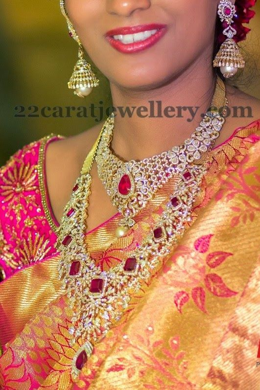 South Indian Jewellery Designs Breathtaking Diamond
