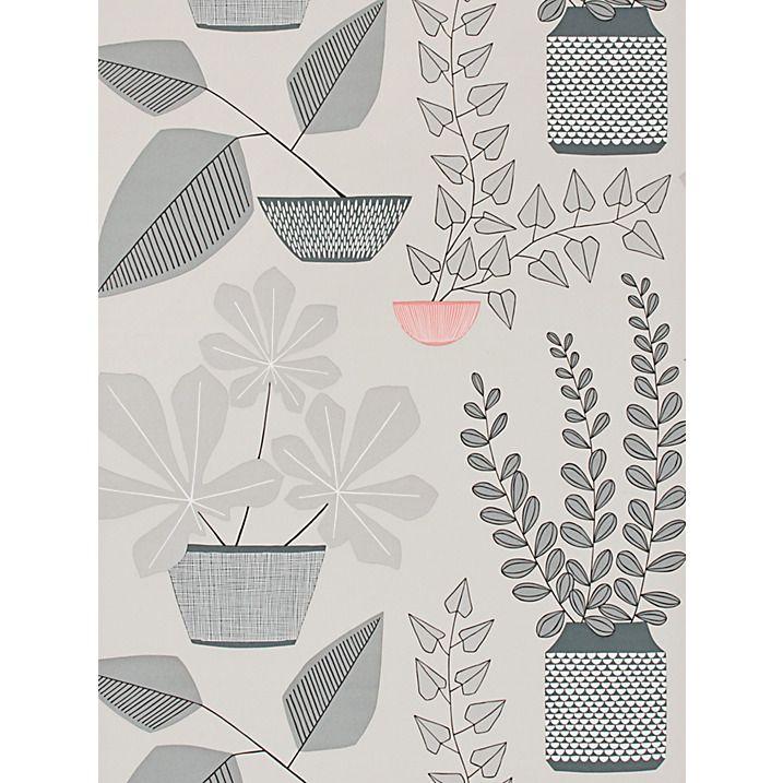 Buy MissPrint House Plants Wallpaper, Pompeii MISP1179 Online at johnlewis.com