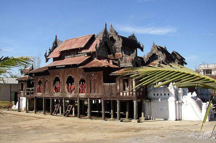 Shwe Yan Pyay Monastery,Nyaungshwe Township