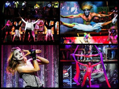 The best Las Vegas adult shows for couples in 2017 - naughtiest shows that you can enjoy together: Absinthe, Zumanity by Cirque du Soleil, Jubilee!, Sin City Comedy Show