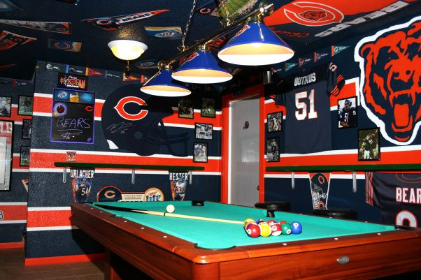 The Chicago Bears Cave Man Cave Pinterest The O Jays