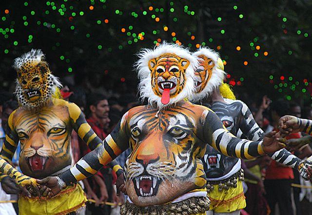 Kerala Onam Pictures: Onam Pulikalli