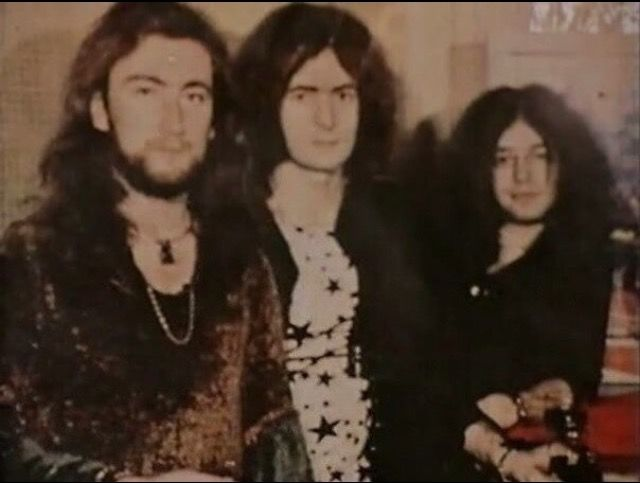 Ritchie Blackmore, Roger Glover & Ian Paice-Deep Purple