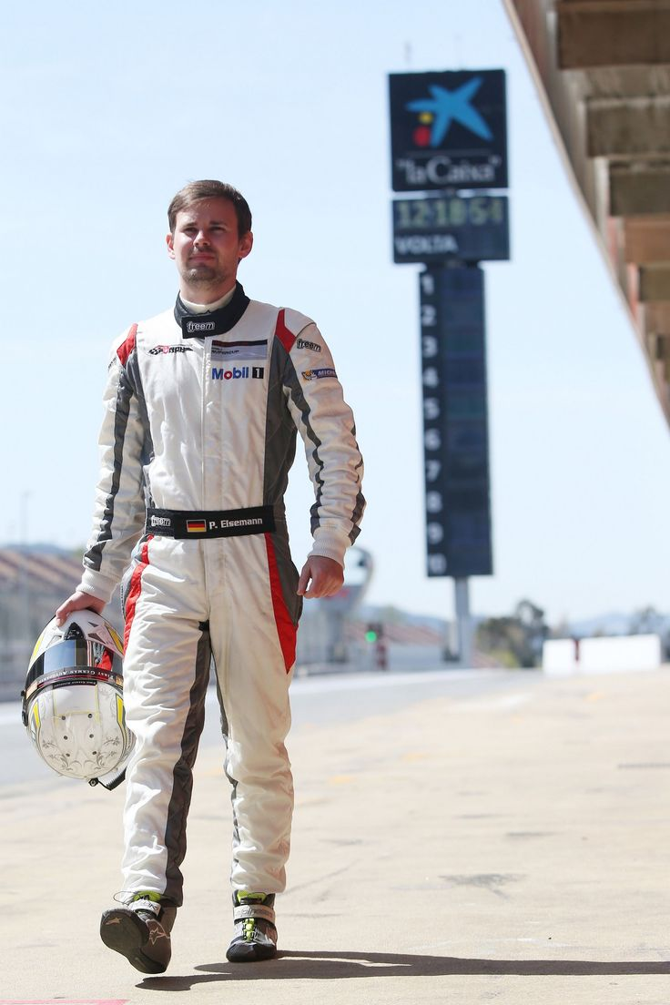 Patrick Eisemann (GER), Porsche Mobil 1 Supercup Test Barcelona