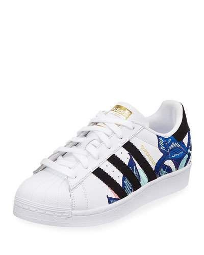 2e6e1838e9 Adidas Superstar Embroidered Sneakers | Products in 2019 | Adidas ...
