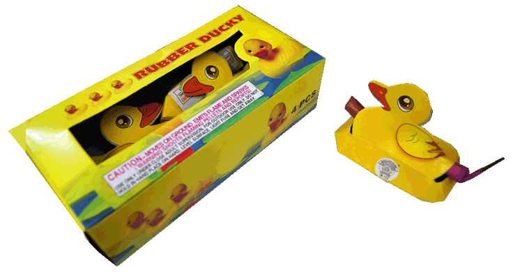 Rubber Ducky | NCI, Inc. Indiana Fireworks Wholesale