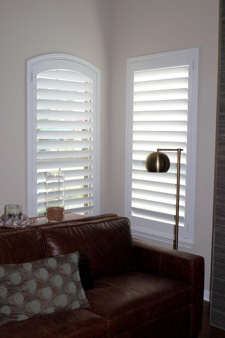 48 best awf arched plantation shutters images on. Black Bedroom Furniture Sets. Home Design Ideas