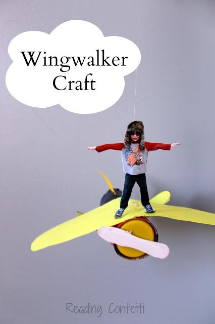 A fun wingwalker craft for kids to make