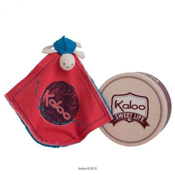 Doudou tortue océan - Kaloo sweet life : quoi de plus mignon qu'un doudou avec une tortue cousue dessus ? Attention, les enfants ne voudront plus la quitter. #Doudou Kaloo original et coloré.. http://www.avenuedesanges.com/fr/kaloo-sweet-life/3833-doudou-tortue-ocean.html