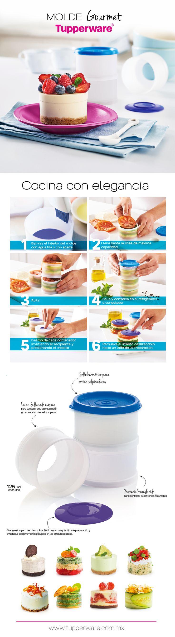 ¡Nuevo! Molde Gourmet Tupperware®