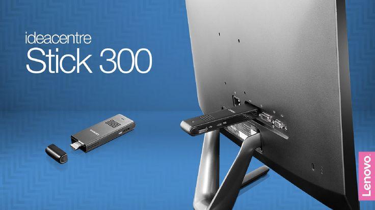 Lenovo tuo ilmoituksensa mukaan myyntiin ensimmäisen tikku-pc:nsä. Kuluttajamarkkinoille suunnattu Lenovo ideacentre Stick 300 on minikokoinen tietokone, jonka fyysiset mitat ovat 100x38x15 millimetriä.
