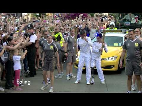 Olympic Torch Relay Week 10 Highlights - London 2012