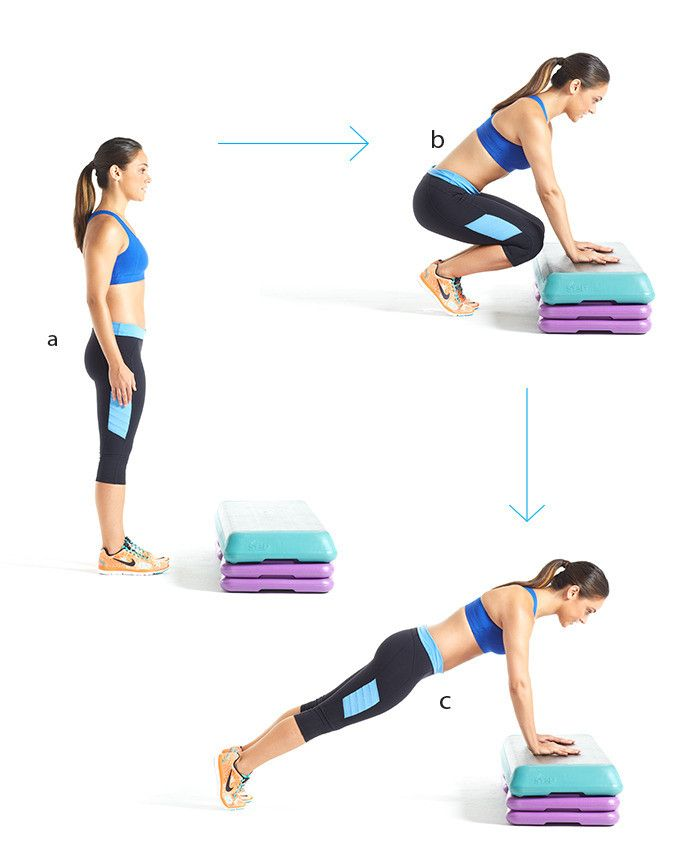 15-minute workout: heart-pumping circuit