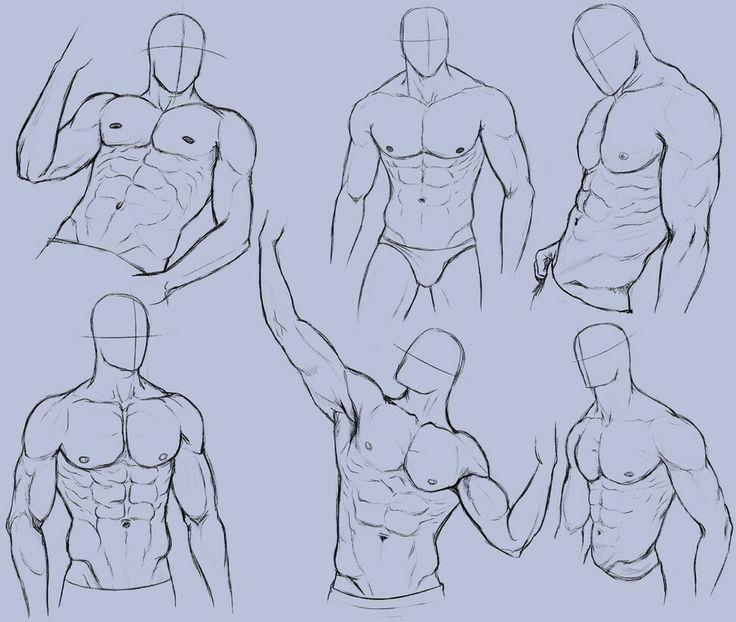 картинки накаченных мужчин срисовать милое нежное созданье