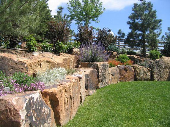 Best 25 Rock wall landscape ideas on Pinterest Terraced