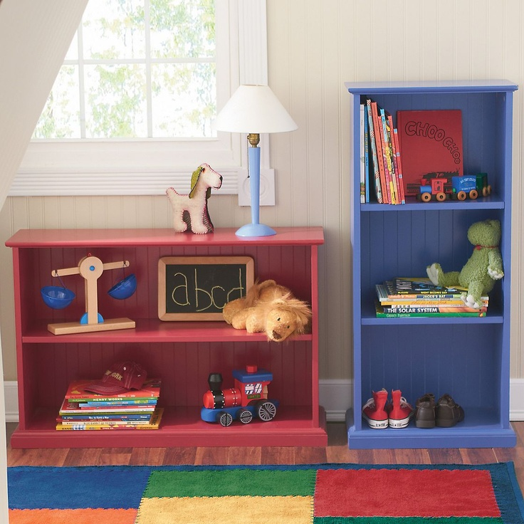 Beadboard Bookcase Companykids With Images Kids Storage
