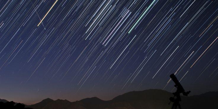 Meter shower2014 | Lyrid Meteor Shower 2014 To Peak On Earth Day (LIVESTREAM VIDEO)