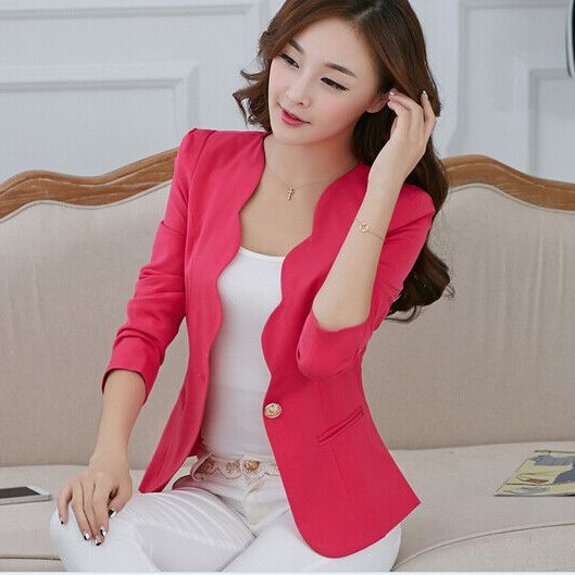 Available Now on our store:  Spring autumn Wom... Check it out here ! http://mamirsexpress.com/products/spring-autumn-women-suit-jacket-coat-solid-color?utm_campaign=social_autopilot&utm_source=pin&utm_medium=pin
