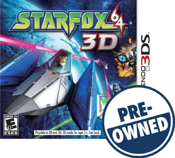 Star Fox 64 3D — PRE-Owned - Nintendo 3DS