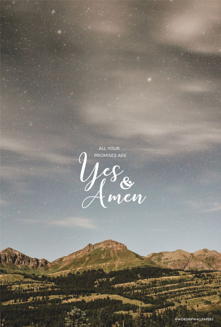 """""""Yes and Amen"""" by Housefires // Phone Screen format // Like us on Facebook www.facebook.com/worshipwallpapers // Follow us on Instagram @worshipwallpapers"""