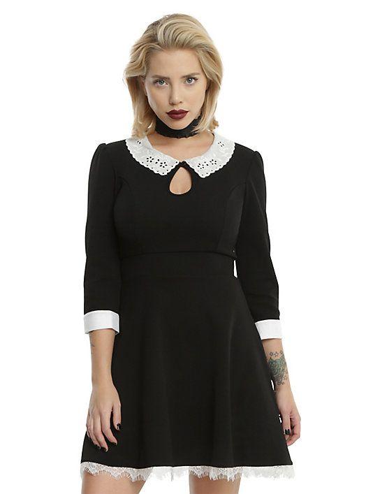 American Horror Story: Murder House Maid Skater Dress, BLACK
