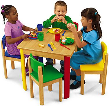 Pretend Amp Play Table And Chair Set Things For My