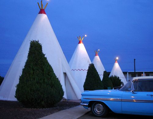 Wigwam Motel, Arizona - this place looked so fun as a kid; I still want to go.
