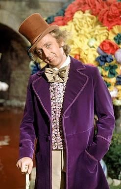 """A little nonsense now and then is relished by the wisest men."" - Willy Wonka"