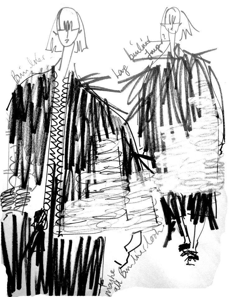 Fashion Sketchbook - fashion sketches; fashion design portfolio // Hayley Grundmann