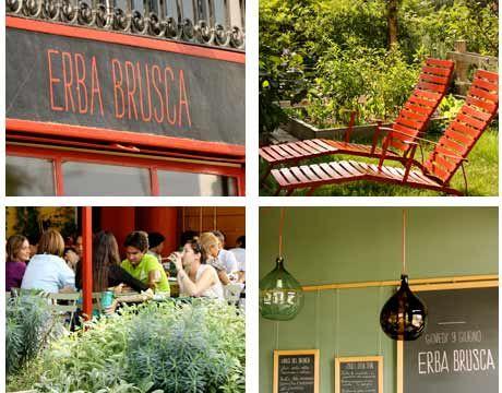 Erba Brusca   green food & green cafe in Milano   www.erbabrusca.it