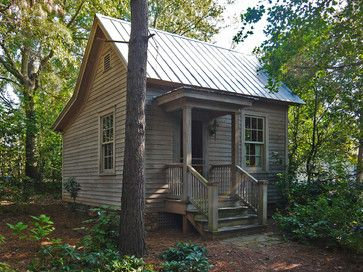 Pine Street Guest House - Rustic - Exterior - by Hall Smith Office_Architecture