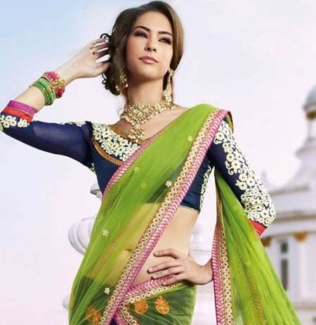 blouse designs for lehenga for Indian brides 5