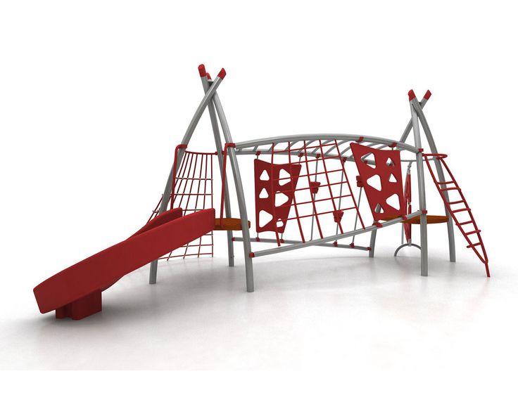 Juegos infantiles y mobiliario urbano línea cooperplay de fahneu