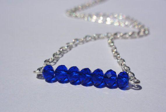 Friendship NecklaceThiny bead by StunningGemsJewelry on Etsy