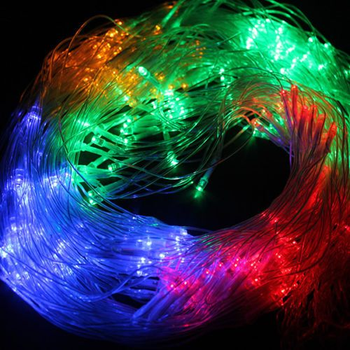 300 LED Net Mesh Fairy String Light for Wedding Xmas Christmas Party Multi-color