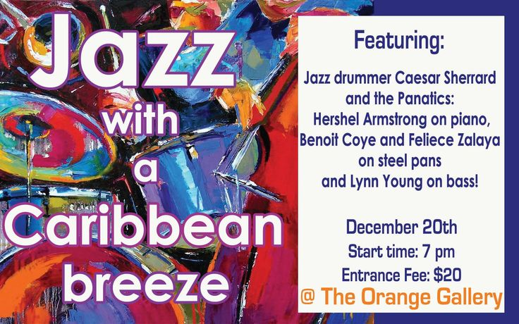 Jazz with a caribbean breeze jazz caribbean mango jam