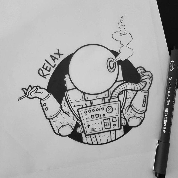 #tattoo #tattoos #tattoodesign #tattooart #tattooflash #art #bodyart #doodle #drawing #sketch #artwork #artist #blackwork #blackworkers #blackworker #oldschool #oldschooltattoo #traditionaltattoo #blacktattooart #blacktattoo #londontattoo #uktattoo #astronaut #space #relax