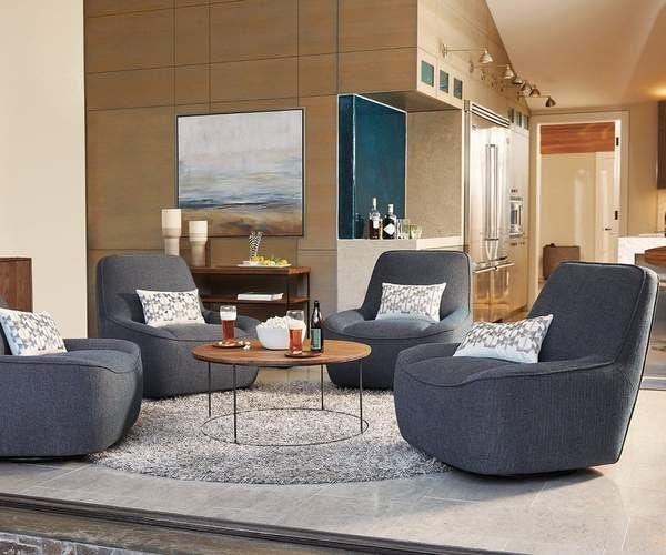 Leende Round Coffee Table Swivel Chair Living Room Small Living Rooms Living Room Chairs